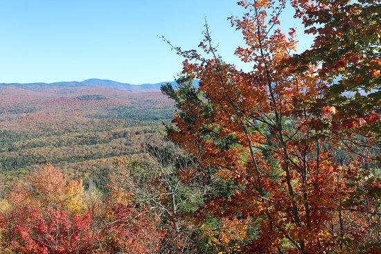Cobble Hill: View from Summit in fall