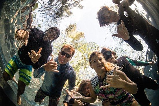 Paia, Havaí: Aloha Moment & Naish Sails Students at Freedive Hawaii