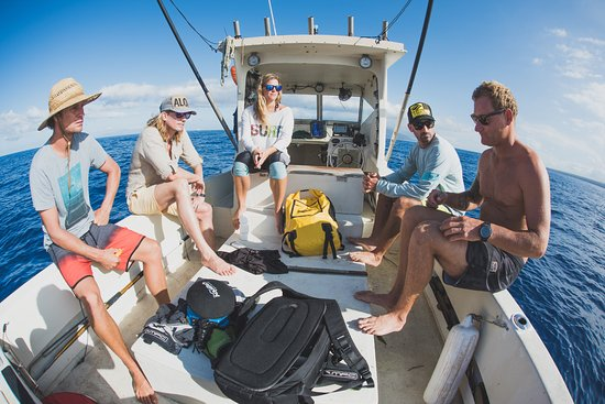Paia, Hawaje: Developing a plan for the open water training at Freedive Hawaii