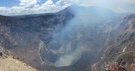 Mombacho Volcano : View of craters