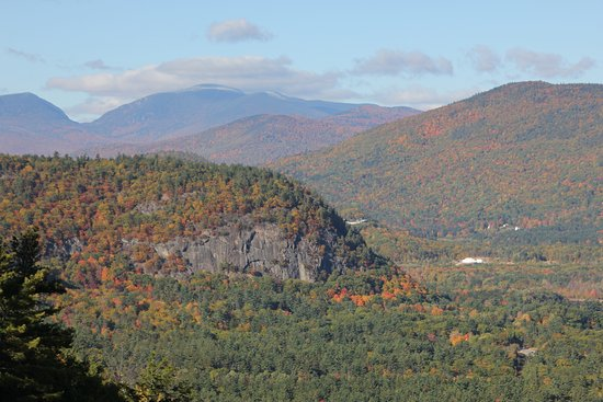 Kancamagus Highway: View from Cathedral Ledge