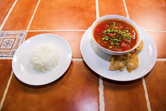 Nuevo Arenal, Costa Rica: Ranchera Soup.