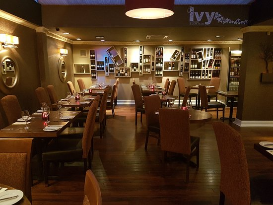 Bothwell, UK: The back restaurant at The Ivy Seafood and Steakhouse