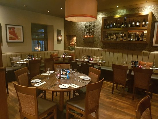 Bothwell, UK: The front section at The Ivy Seafood and Steakhouse