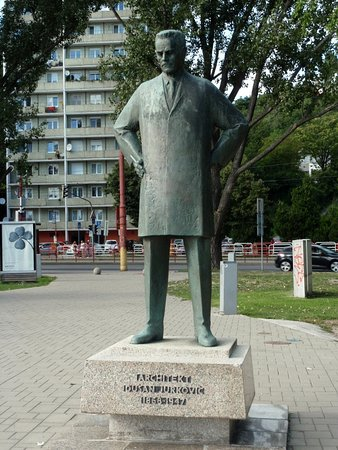 Monument of Dusan Jurkovic