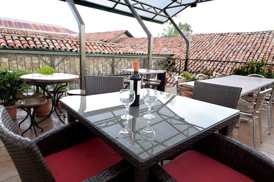 San Juan de Leon: Terrace