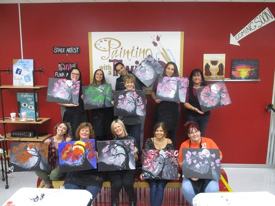 Painting With A Twist Dearborn MI Address Phone Number