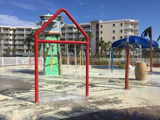 Splash Garden Kiddie Play Area Picture Of Ramada Plaza Fort Walton Beach Resort Destin Fort