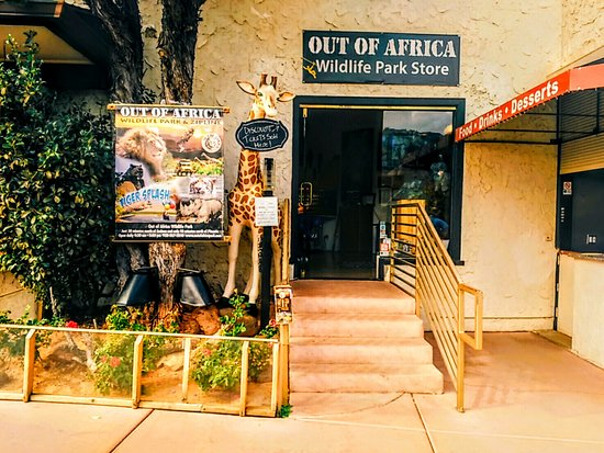 Out of Africa Wildlife Park Store