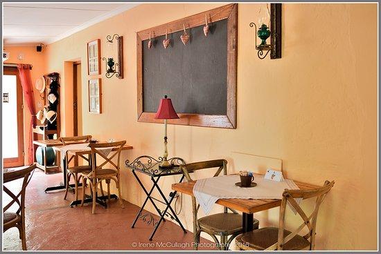 Piketberg, South Africa: quaint furnishings
