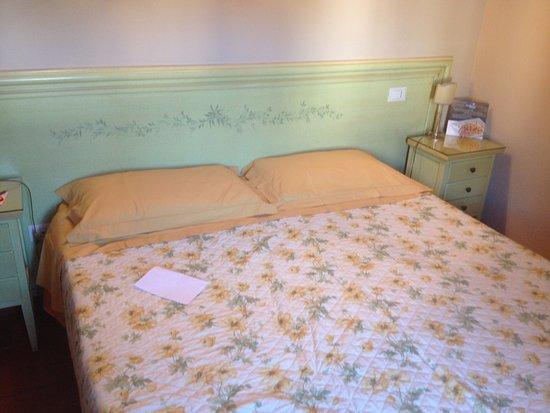 Villa Maria B&B : Bett im Zimmer