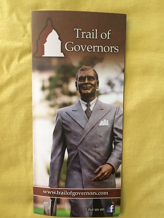 Pierre, Dakota del Sur: Trail of Governors
