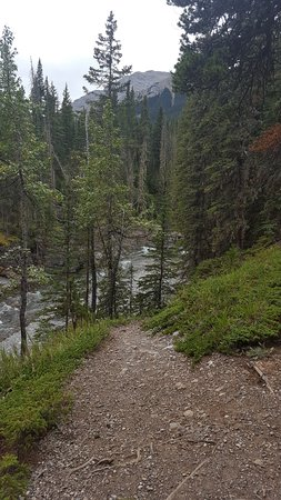 Turner Valley, Kanada: hiking in the Sheep River area before a sip andn nosh
