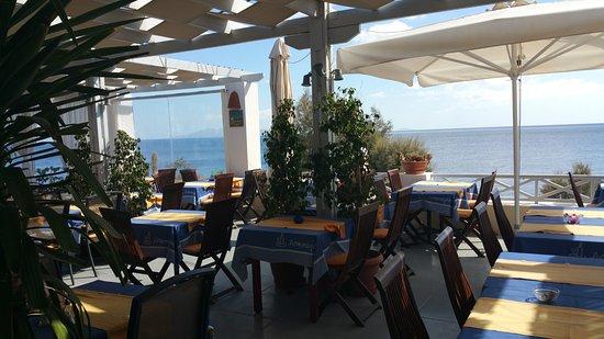 Atmosphere Lounge Restaurant: Terrasse der Lounge