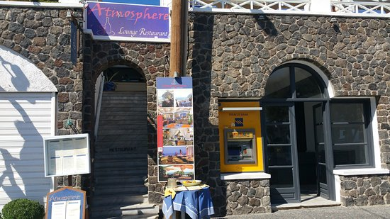 Atmosphere Lounge Restaurant: Aufgang zur Lounge