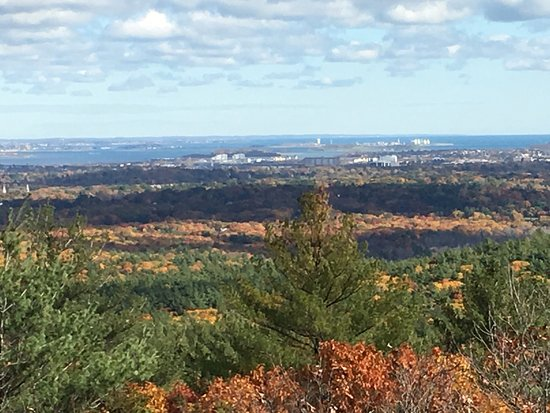 Milton, MA: Beautiful hike with amazing views.