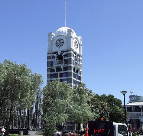 New Plymouth, New Zealand: Clock Tower