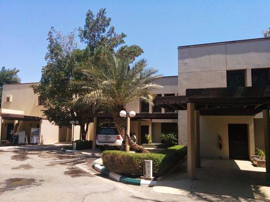 Le Meridien Al Khobar: The villa entrance