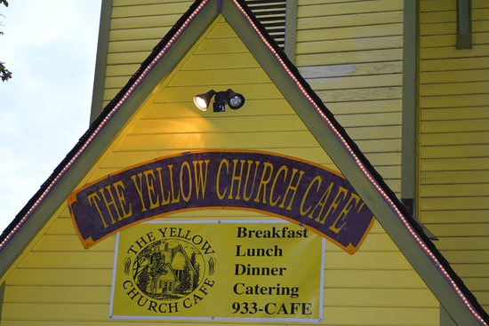 Ellensburg, WA: The Yellow Church Cafe