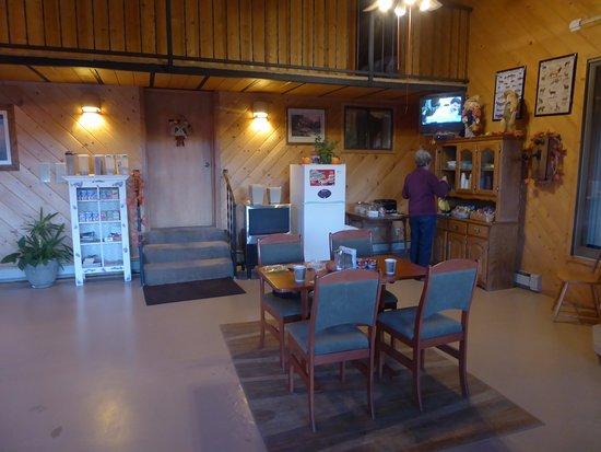 Cumbres Suites: Breakfast room