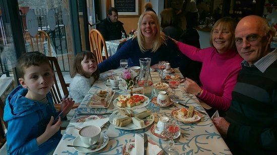 Mother's Day Tea at the Weigh Bridge Tea room Ceres.
