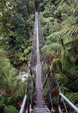 Tasmania, Australia: The swing bridge