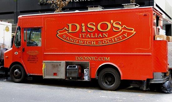 diso s italian sandwich society food truck in manhattan