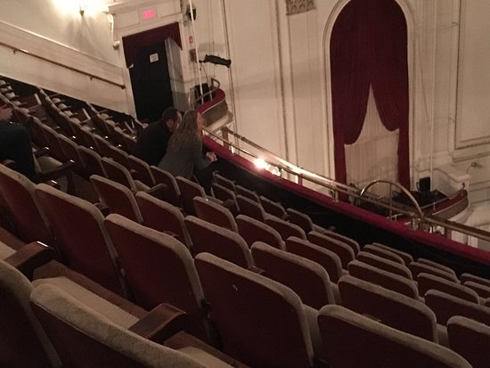 View Of The Stage From Center Left Mezzanine Seats