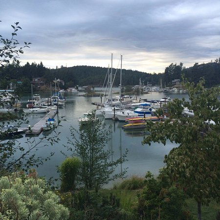 Madeira Park, Canadá: View of Marina