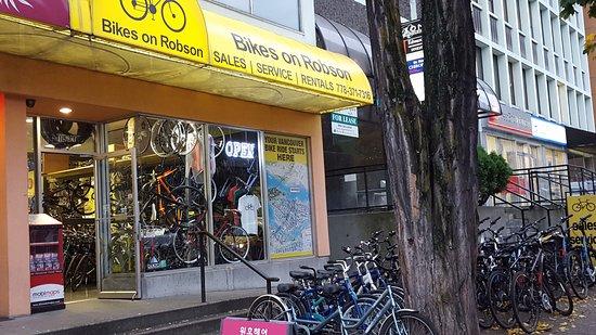 Bikes on Robson