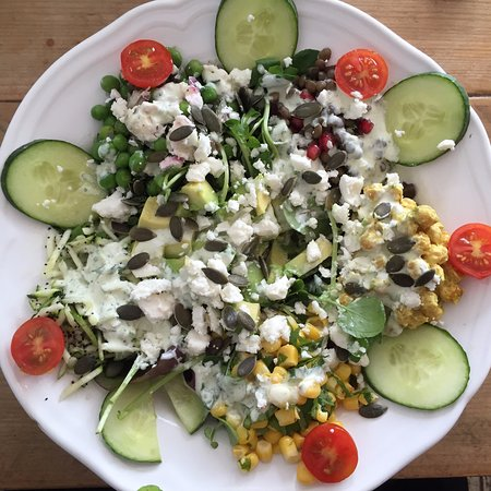 Sennen Cove, UK: Superfood salad