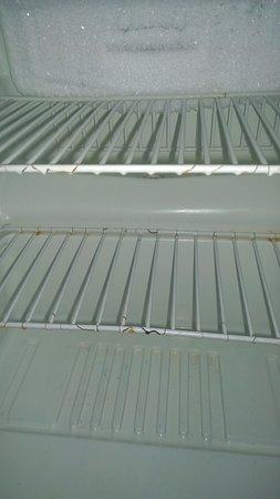 Pontoon Beach, IL: dirty fridge