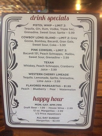 Parker Brother's Trail Dust SteakHouse: Our daily special new.