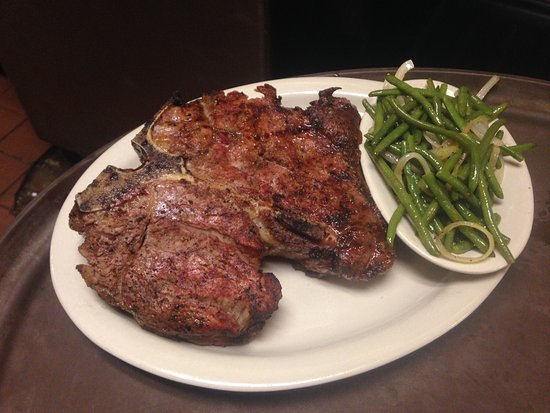 Parker Brother's Trail Dust SteakHouse: Our fresh steak from open flame to your table.  50.oz and bone in ribeyes
