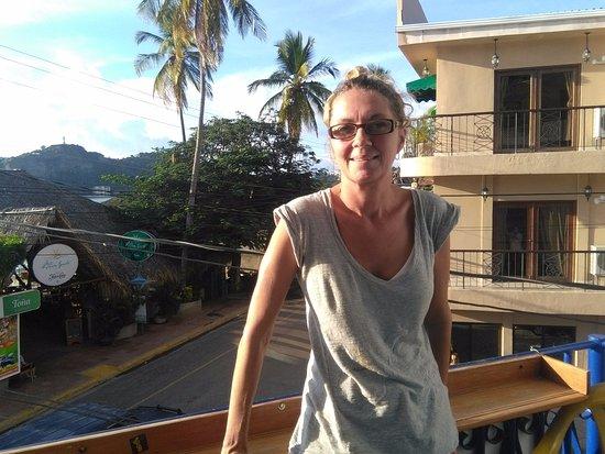 Hotel Estrella: balcony
