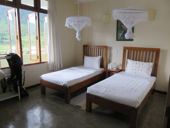 Dickoya, Sri Lanka: Very comfortable rooms with clean fresh air.