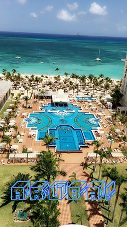 Hotel Riu Palace Aruba Very Nice Resort Having Private Beach Is Close