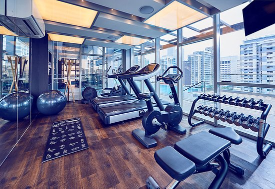 Hotel gym level picture of mercure singapore bugis