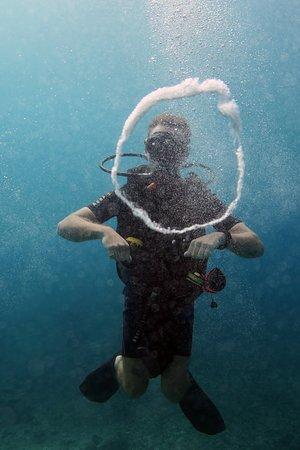Happy times underwater!