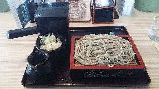 Shikaoi-cho, Japón: もり蕎麦