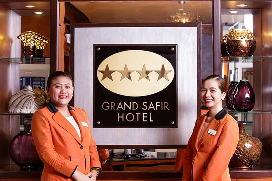 Grand Safir Hotel: Welcome to Bahrain's leading Four Star Deluxe Hotel in the Heart of Juffair District.