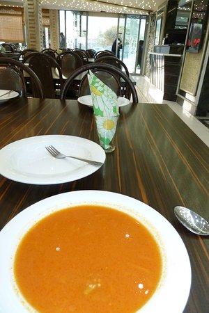 Bazargan, Iran: Die Suppe gibt es dazu. Das wars dann.