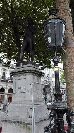 Henry Grattan Statue
