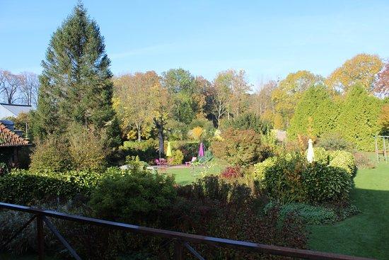 Vue du balcon photo de au jardin des deux ponts for Au jardin des deux ponts