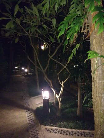 Baan Chaweng Beach Resort & Spa: accés aux chambres