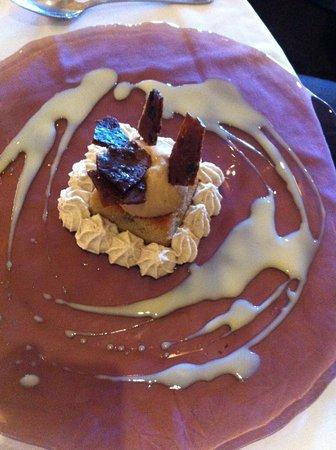 Hôtel du Boeuf Couronné : Dessert