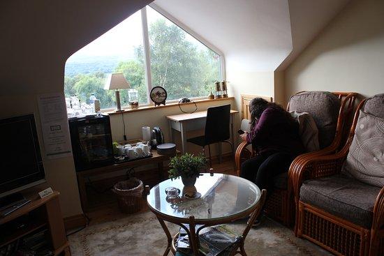 SheenView B&B : a sala de estar dos hóspedes