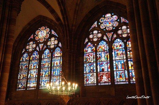 Domkirken Notre Dame de Strasbourg: Vitrais da Catedral