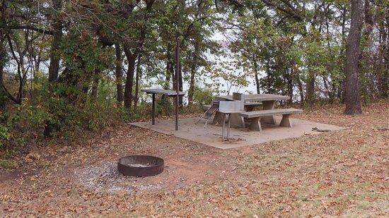 Arcadia Lake: Picnic/camping spot