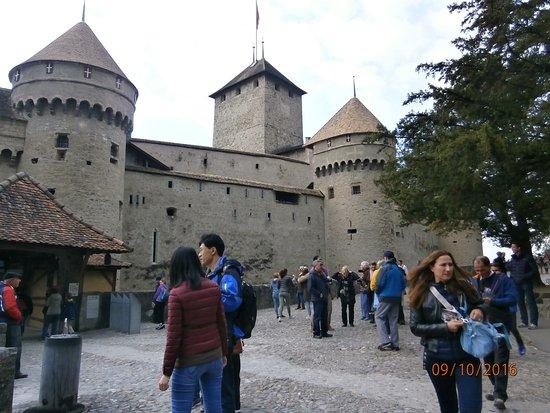 Chateau de Chillon: Exterior view